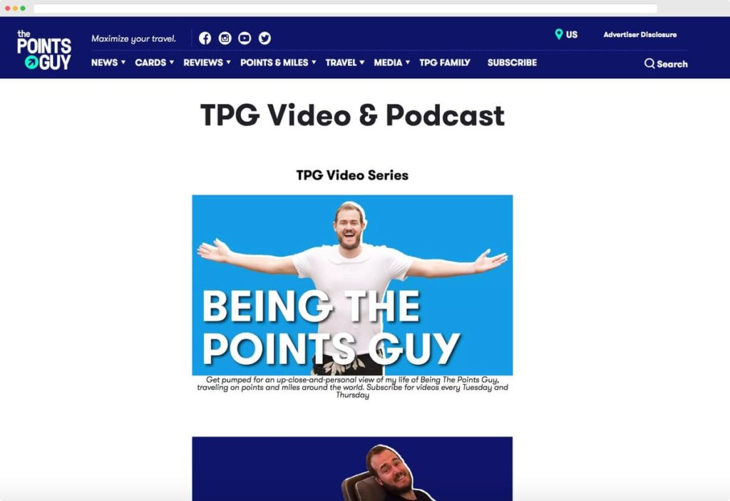 TPG Video & Podcast