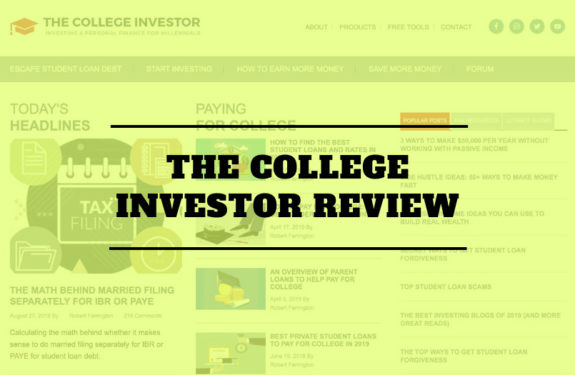 The College Investor Review