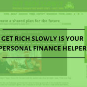 Get Rich Slowly is Your Personal Finance Helper