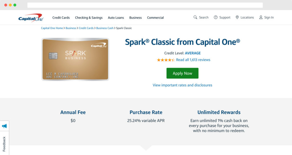 Capital One Spark Classic