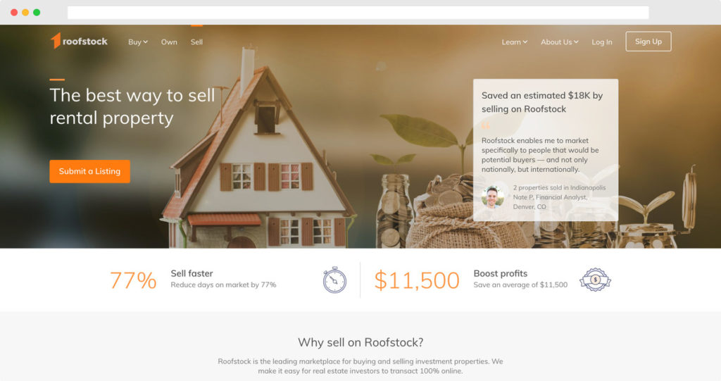 Sell Property Page