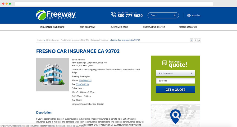Freeway Car Insurance