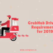 GrubHub Driver's Requirements for 2019