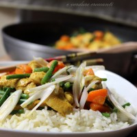 Riso basmati con pollo al curry
