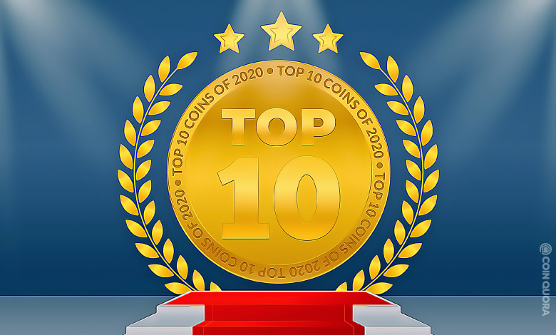 Top 10 Best Performing Coins of 2020