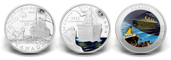 Canadian-2012-Titanic-Commemorative-Coins