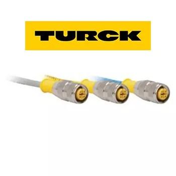 Cable de Sensor Marca TURCK Receptaculo Circular de 4 Posiciones Modelo RK 4T 2