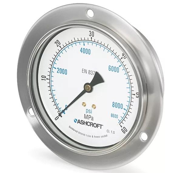 Manómetro de presión 8008A Marca Ashcroft México Coinsamatik 2 2