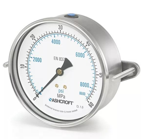 Manómetro de presión 8008A Marca Ashcroft México Coinsamatik 3
