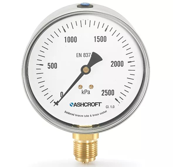 Manómetro de presión 8008A Marca Ashcroft México Coinsamatik 4