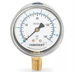 Manómetro de presión 8008A Marca Ashcroft México Coinsamatik