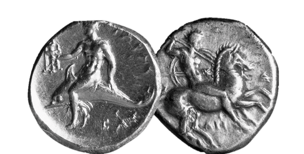 The children of Sparta and the boy on a dolphin