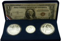 Pearl Harbor 65th Anniversary Set from the Honolulu Mint