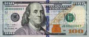 $100 Federal Reserve Note