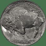 1913 Buffalo Nickel Type 1 Reverse