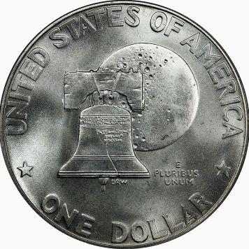 Bicentennial Dollar Type 1 (1975) Reverse