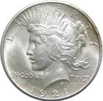 1921-D Peace Dollar