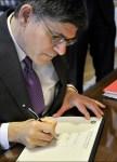 Lew Signing Ceremony