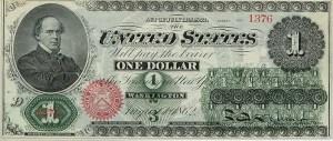 1862 $1 Legal Tender Note