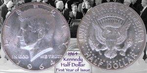 1964 JFK Half-Dollar