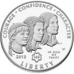 2013 Girl Scouts of the USA Centennial commemorative coin