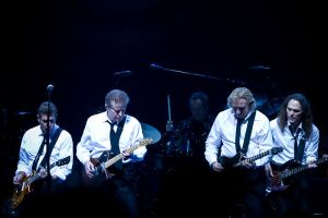 The Eagles (left to right): Glenn Frey, Don Henley, Joe Walsh, and Timothy B. Schmit