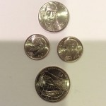 2014 coins found in change during a recent drive to New York