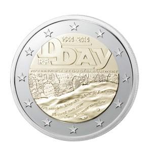 Bimetallic 2 € commemorative issue from the Monnaie de Paris (Paris  Mint)