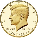 2014 Kennedy Half Dollar Gold Proof