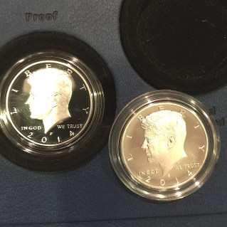 2014 Kennedy Half-Dollar 50th Anniversary Silver Set