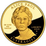 2012 First Spouse coin featuring Alice Paul