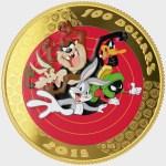 $100 Looney Tunes 14-karat Reverse