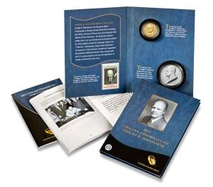 2015 Dwight D. Eisenhower Coin & Chronicles Set