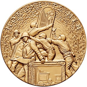 2015 Monuments Men Bronze Medal