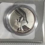 2015 Canada Bugs Bunny $20 Silver Coin