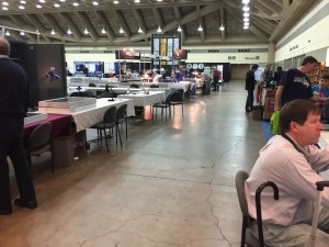 Whitman Spring 2016 Expo looking into Hall C