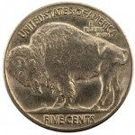 1913 Buffalo Nickel Type 2 Rev