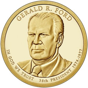 2016 Gerald R. Ford dollar coin