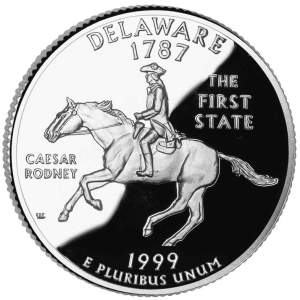 1999-S Delaware Quarter Proof