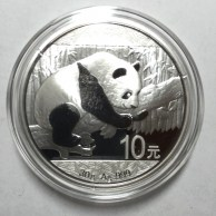 Reverse of the 2016 Chinese Silver Panda coin