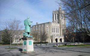 Princeton University's Firestone Library