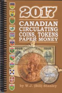 Stanley 2017 Canadian Coins, Tokens & Paper Money Cover