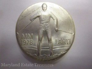 1978 Finland Lahti Ski Games Commemorative Coin