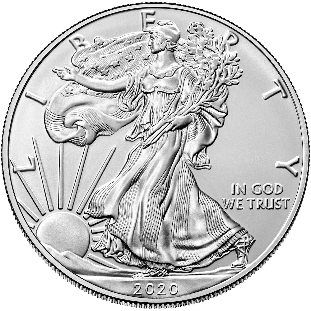 2020 American Eagle Silver Bullion Coin