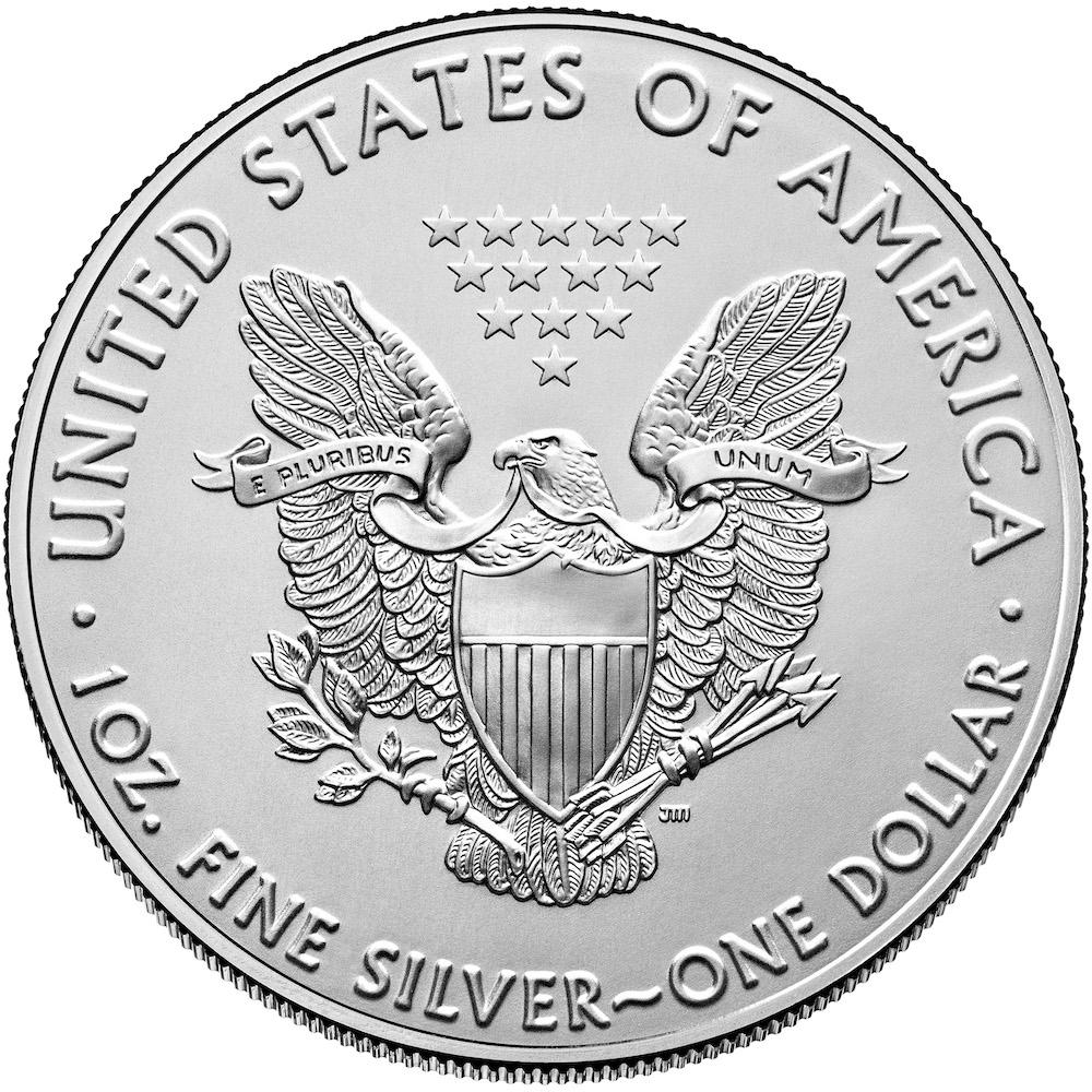 2020 American Silver Eagle Reverse