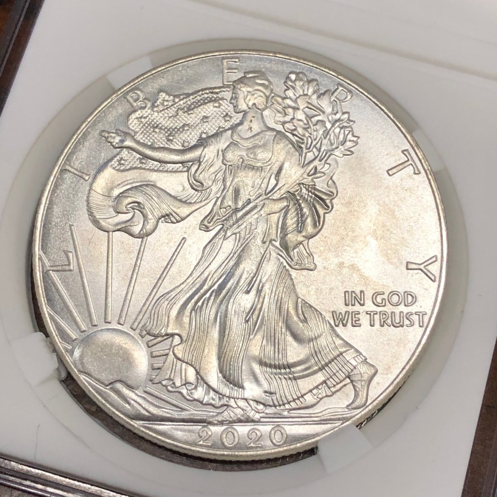 Obverse of Fake Eagle