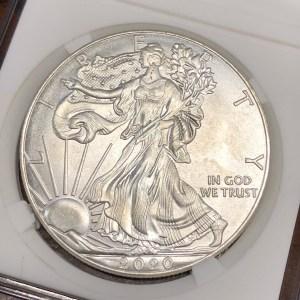 Obverse of Fake Eagle