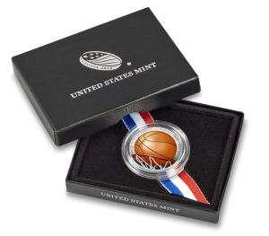 Colored Basketball Hall of Fame Commemorative Clad Half-Dollar