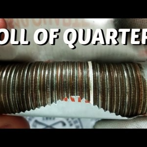 COIN ROLL HUNTING QUARTERS: WHAT DID WE JUST FIND??