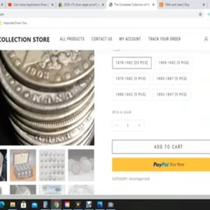 Worst Scam COIN COLLECTION Ad On Facebook